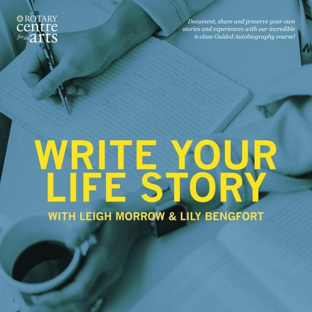 Write Your Life Story (A 6-Week Guided Autobiography Workshop) (Virtual)